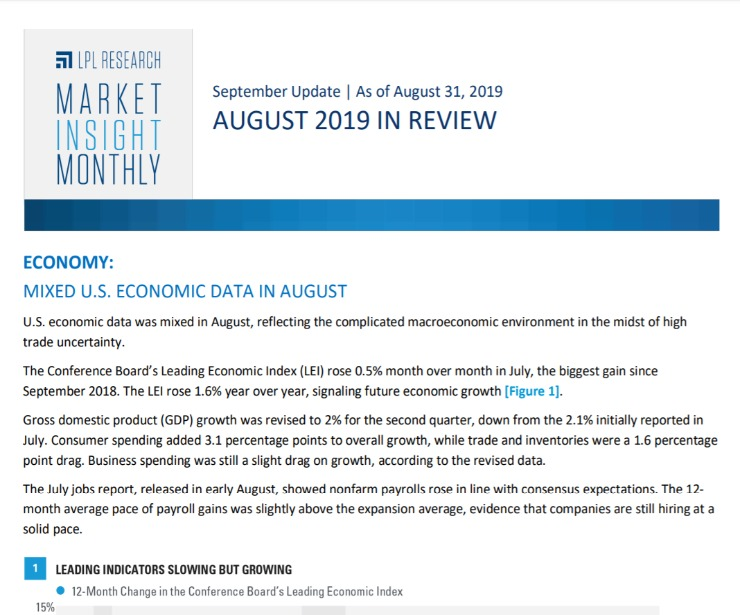 Market Insight Monthly   August 2019